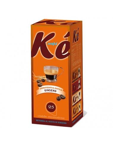 KE CAFE ESPRESSO GINSENG Astuccio 25 Cialde Ese 44