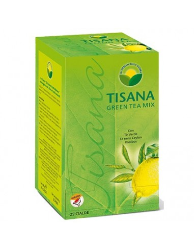 ESPRESSI NATURA GREEN TEA MIX LIMONE Astuccio 25 Cialde Ese 44