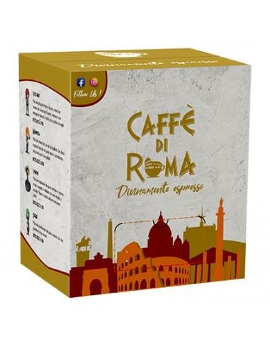 CAFFE DI ROMA CIALDA MINERVA Cartone 100 Cialde compostabili Ese 44