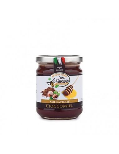 APICOLTURA LUCA FINOCCHIO MIERAVIGLIE CIOCCOMIEL Vasetto 125 grammi